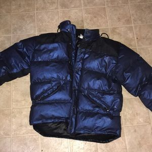 Winter Calvin Klein puffer jacket